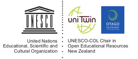 UNESCO-COL Chair Logo